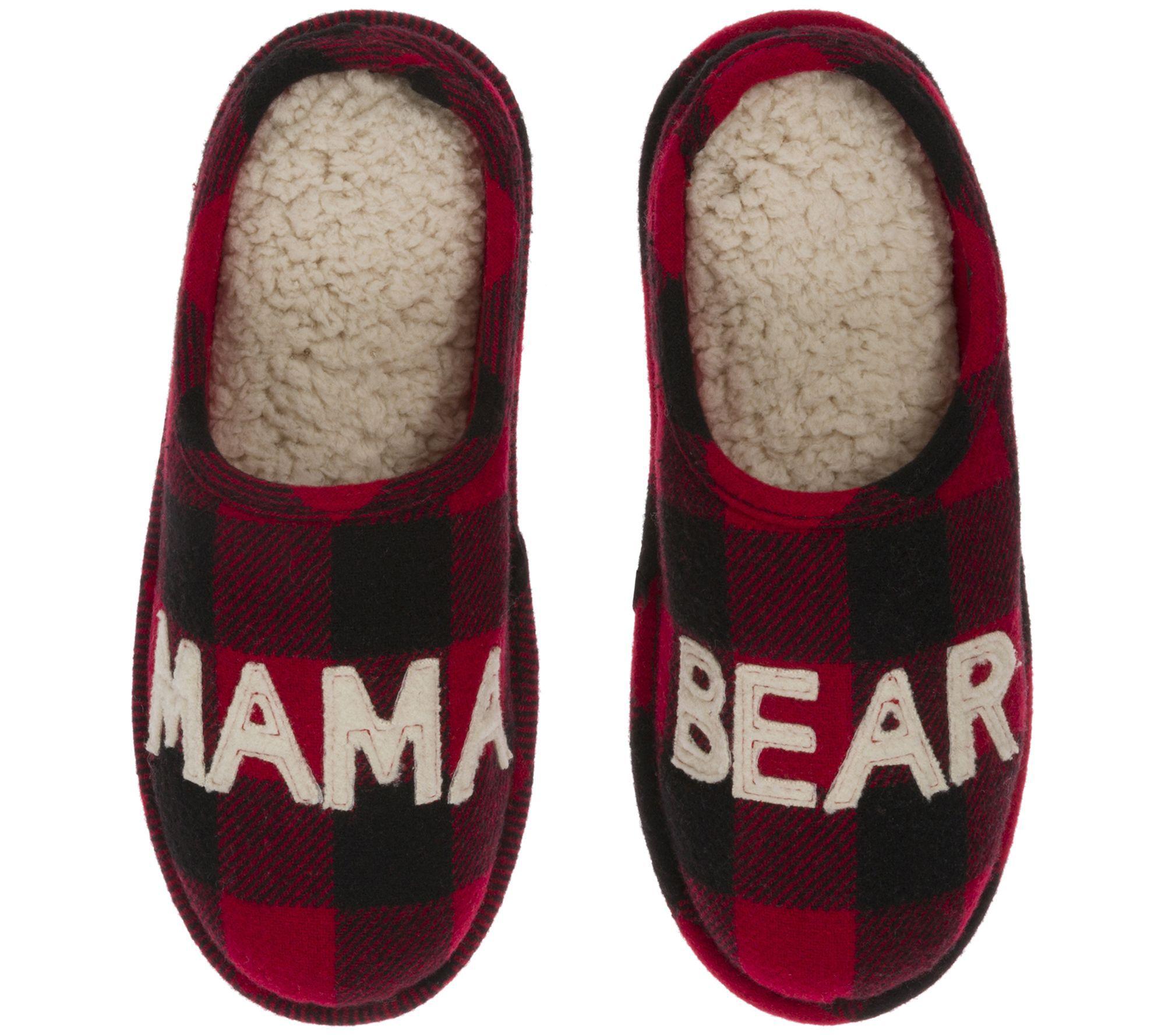 a87fd12e6e1 Dearfoams Mama Bear Slipper Clogs — QVC.com