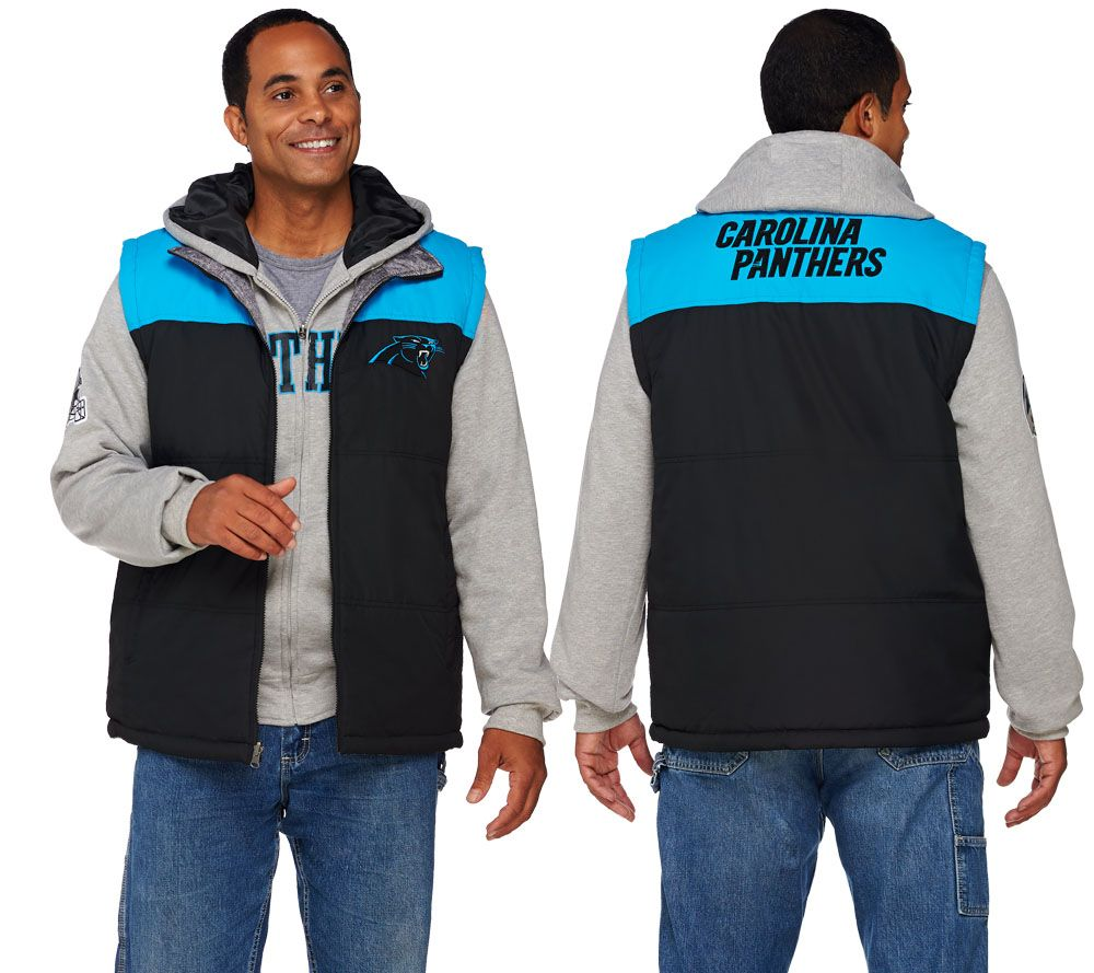 deadde9bb NFL 5-in-1 Reversible Vest and Hoodie Combo - Page 1 — QVC.com