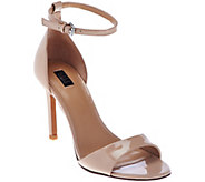 G.I.L.I Leather Ankle Strap Sandals - Colby - A274341