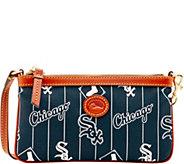 Dooney & Bourke MLB Nylon White Sox Large Slim Wristlet - A281641