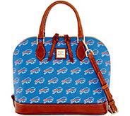 Dooney & Bourke NFL Bills Zip Zip Satchel - A285741