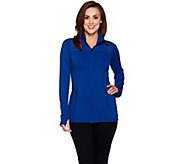 cee bee CHERYL BURKE Performance Jacket with Mesh Detail - A287741