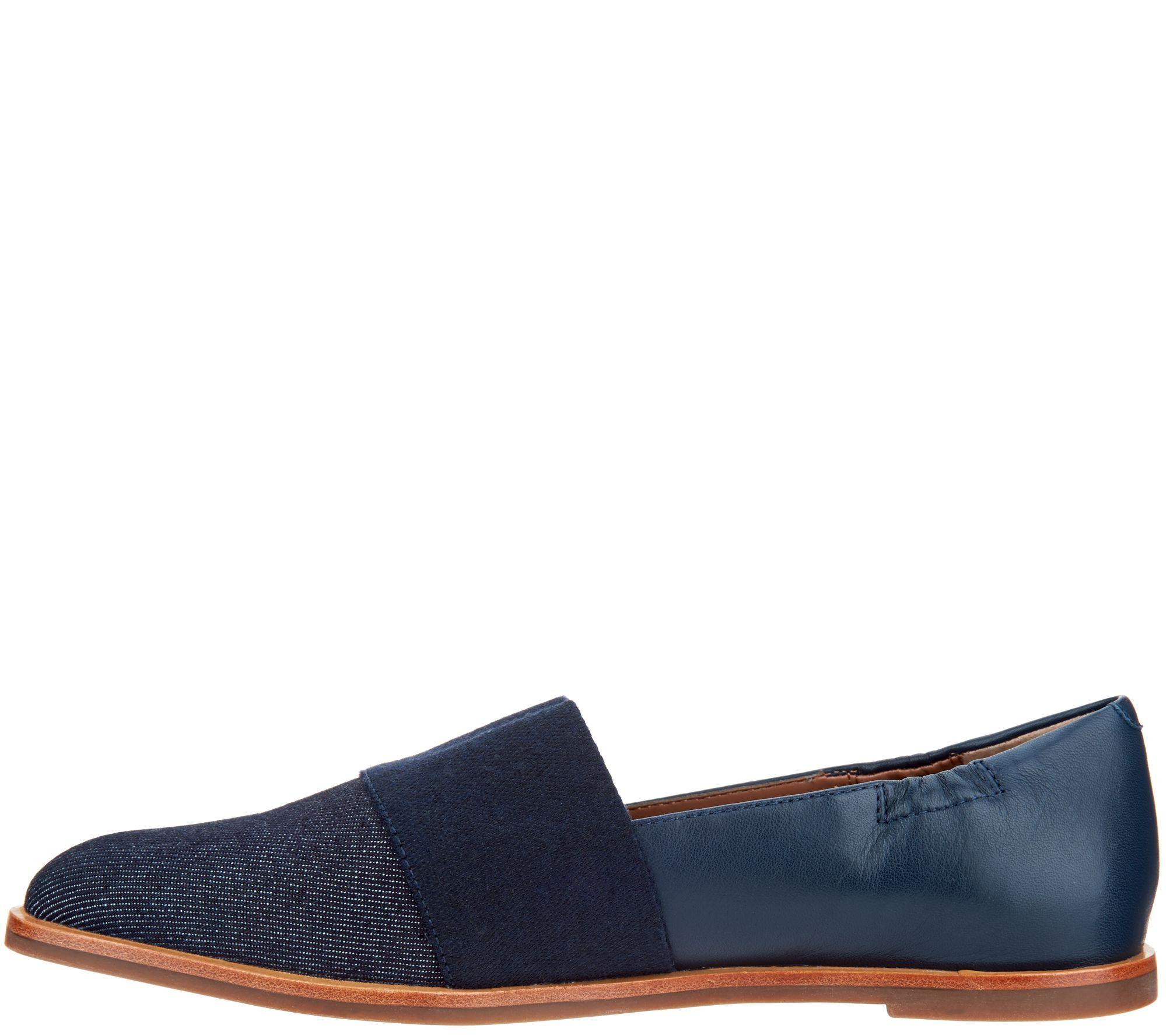 leather and cotton Eletric Love denim loafers Blue Bird Shoes WKMLkKKqSW
