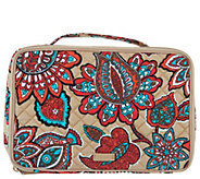 Vera Bradley Iconic Signature Large Blush & Brush Cosmetic Case - A304141