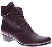 Spring Step Leather Ankle Boots - Galil - A334241