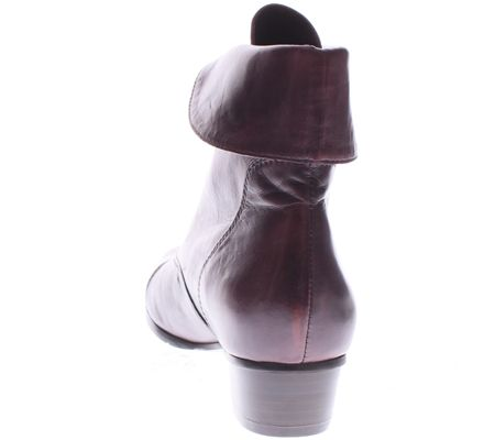 Spring Step Leather Ankle Boots - Galil — QVC com