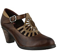 Spring Step LArtiste Leather Mary Jane Shoes -April - A341341