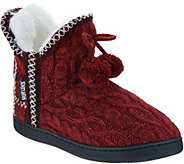 MUK LUKS Amira Slipper Boots with Faux Fur Lining - A342641