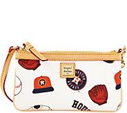 Dooney & Bourke MLB Astros Large Slim Wristlet - A280142