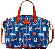 Dooney & Bourke MLB Nylon Tigers Small Satchel - A281742