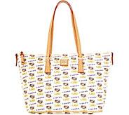 Dooney & Bourke NCAA Louisiana State University Zip Top Shopper - A283242
