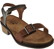 Naot Leather Sandals with Buckle Detail - Boho - A288142