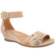 Earth Leather or Suede Two-Piece Sandals - Hera - A304642