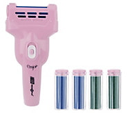 Emjoi 3D Micro-Pedi with 2 Extra and 2 Extreme Rollers - A307442