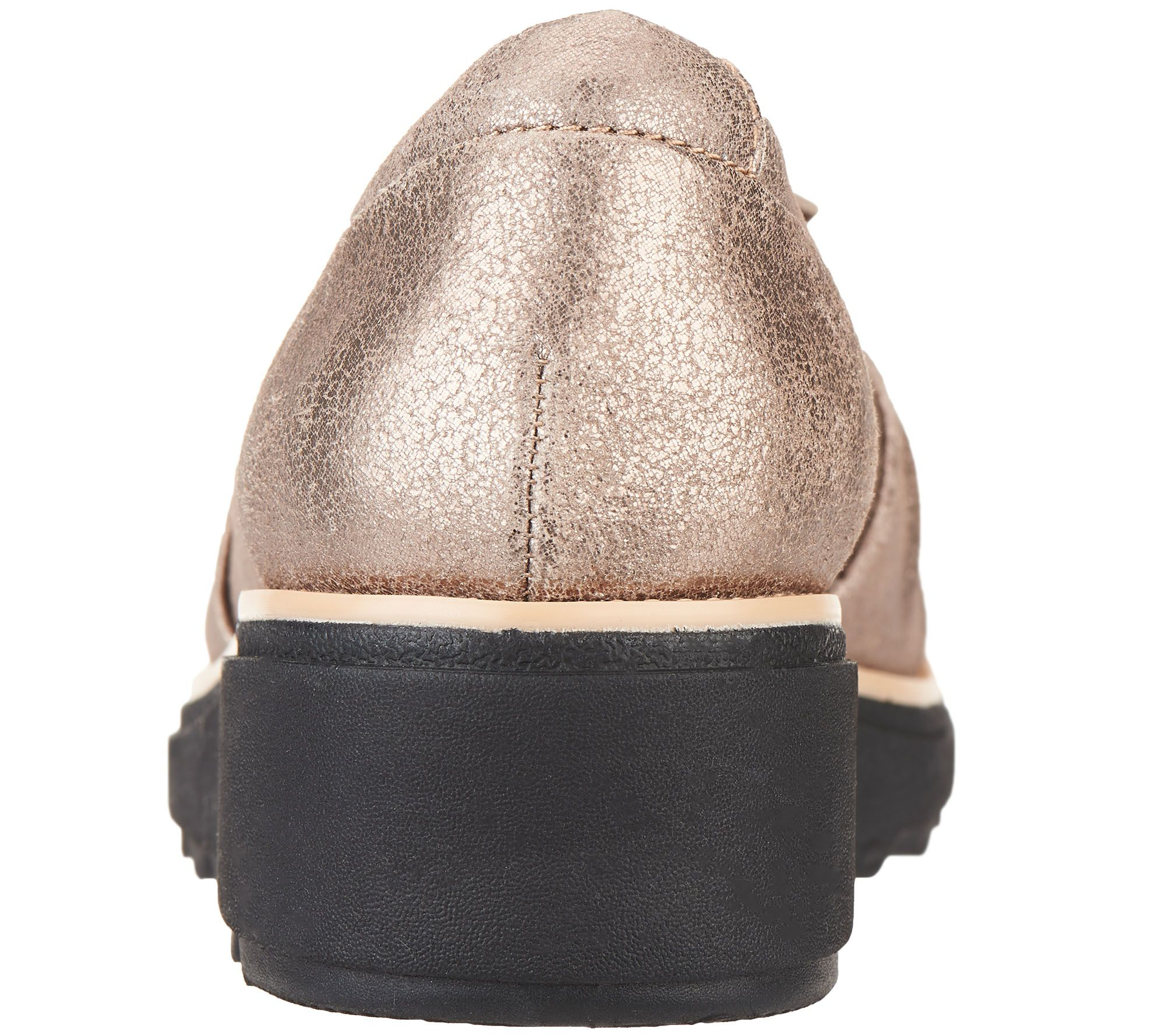 32e843c2fcf Clarks Suede Slip-On Loafer with Knotted Detail - Sharon Dasher - Page 1 —  QVC.com