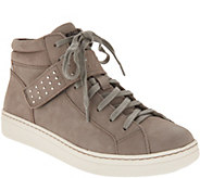 Earth Lace-up Sneakers with Studded Strap - Zeal - A311542