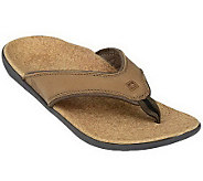 Spenco Mens Yumi Select Orthotic Thong Sandals - A329042