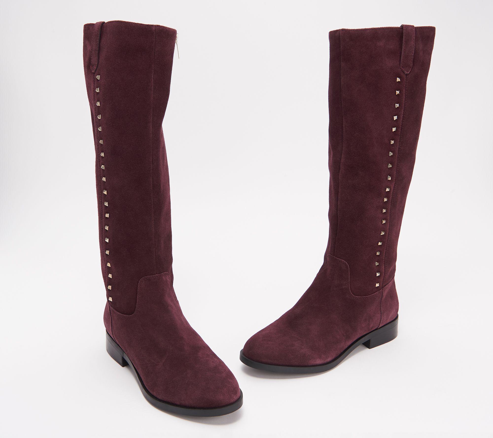24db25cf8c9 Marc Fisher Medium Calf Leather Tall Shaft Boots - Secrit - Page 1 — QVC.com
