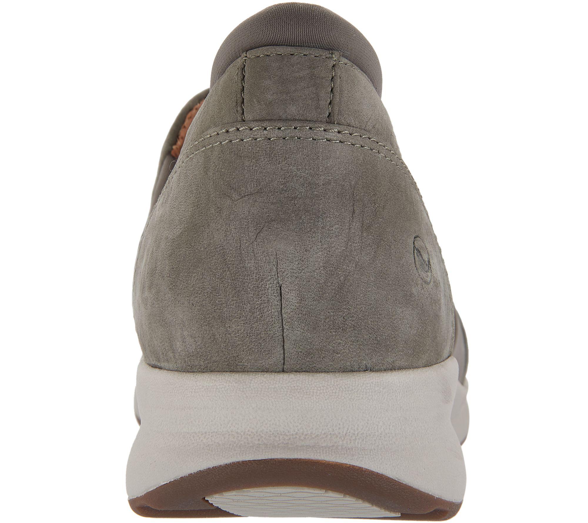 17d76c0a64a Clarks Unstructured Leather Slip-on Shoes - Un.Adorn Step - Page 1 — QVC.com