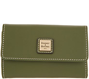 Dooney & Bourke Vachetta Leather Flap Wallet - Beacon - A343542