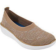 As Is Ryka Heather Knit Slip-On Shoes- Nell - A345942