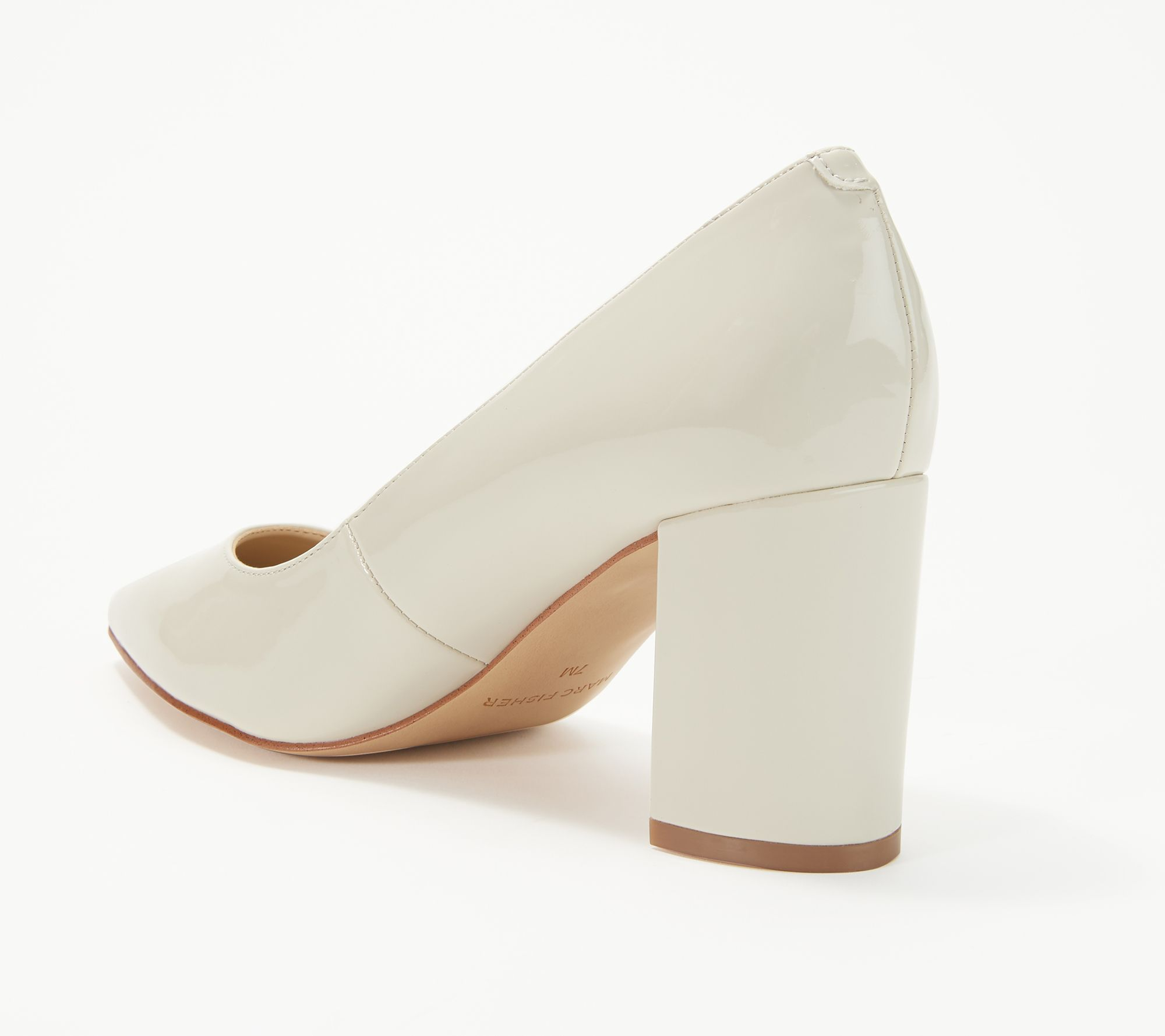 45c71d08479 Marc Fisher Pointy Toe Block Heel Pumps - Claire - Page 1 — QVC.com