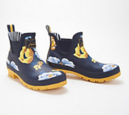 Joules Pull On Rain Boots - Wellibob - A349342