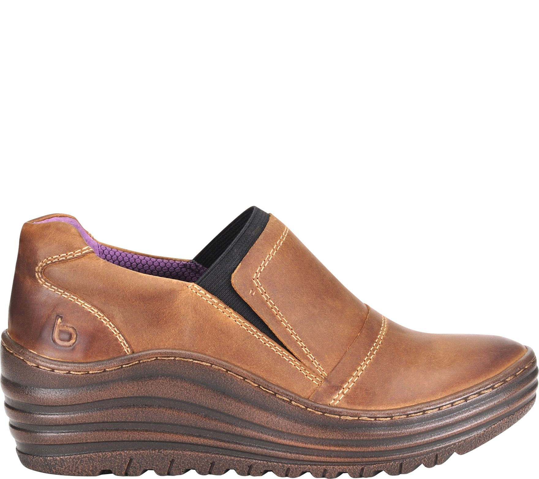 b49c45b85bf5d9 Bionica Leather Slip On Loafers - Grinnell - Page 1 — QVC.com