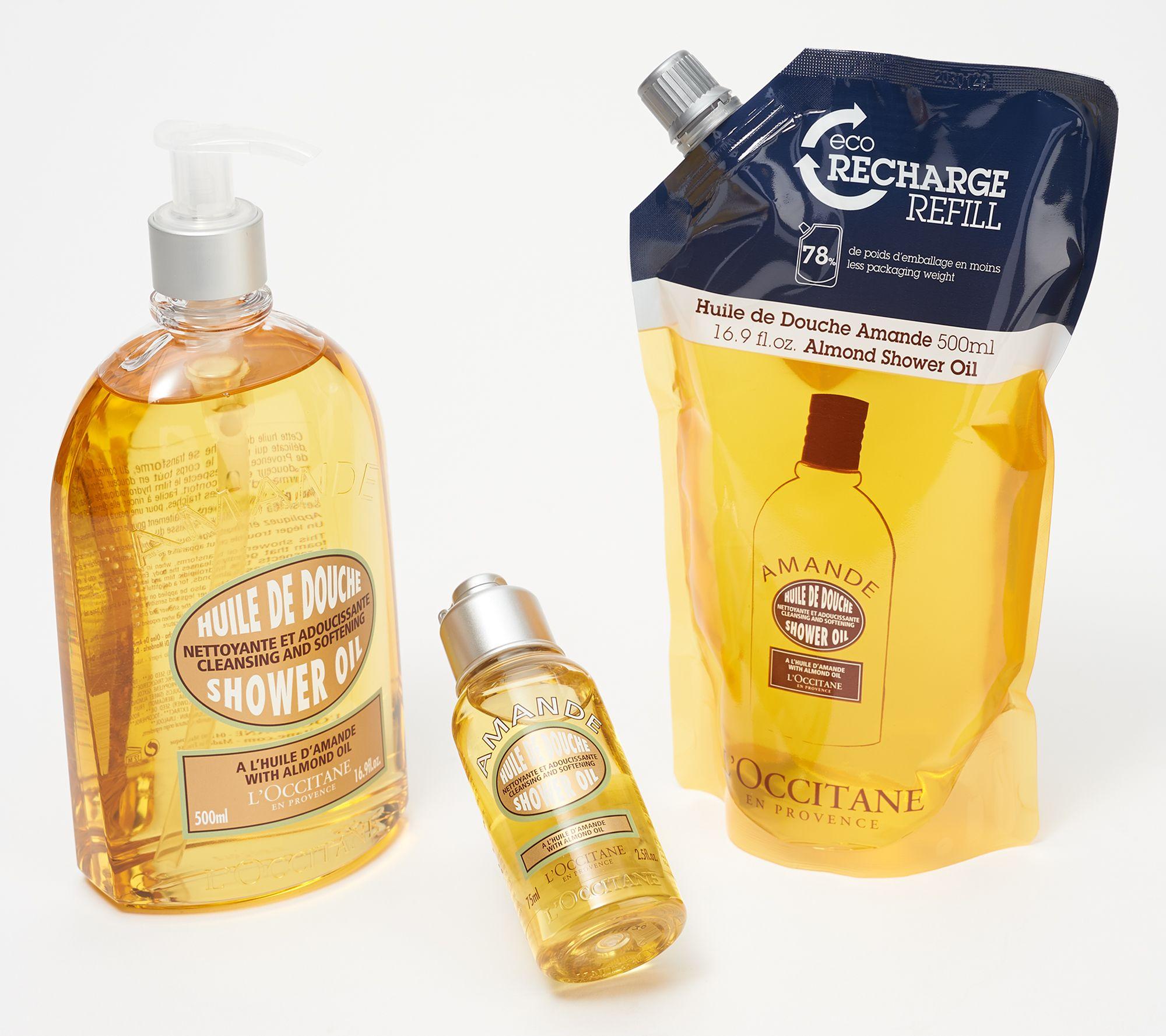 L'occitane Shower Oil Trio by L'occitane Includes: