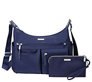 Baggallini Anywhere Large Hobo with RFID PhoneWristlet - A414742