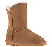 Lamo Suede and Sheepskin Boots - Liberty 9 - A415642