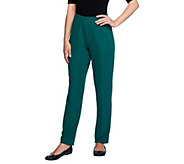 Susan Graver Essentials Lustra Knit Tall Skinny Pants - A211443