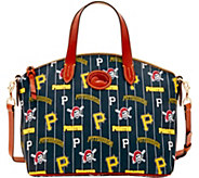 Dooney & Bourke MLB Nylon Pirates Small Satchel - A281743