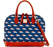 Dooney & Bourke NFL Broncos Zip Zip Satchel - A285743