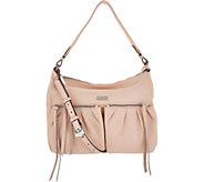 Aimee Kestenberg Pebble Leather Convertible Hobo- Dallas - A306743