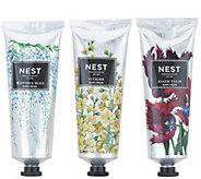 NEST Fragrances 3-Piece Luxury Hand Cream Collection - A345743