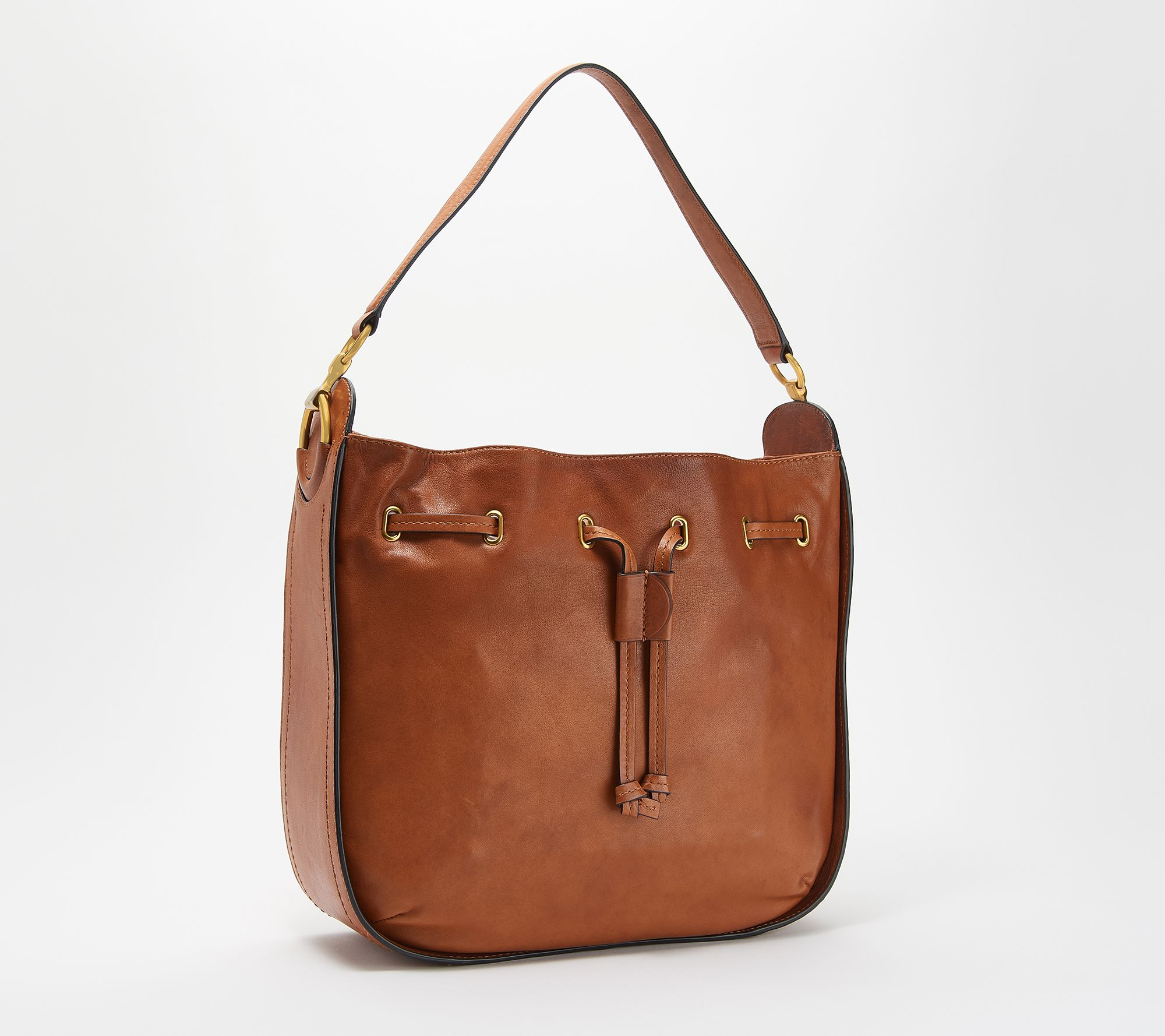 989b018f12a5 Frye Leather Ilana Hobo Handbag — QVC.com