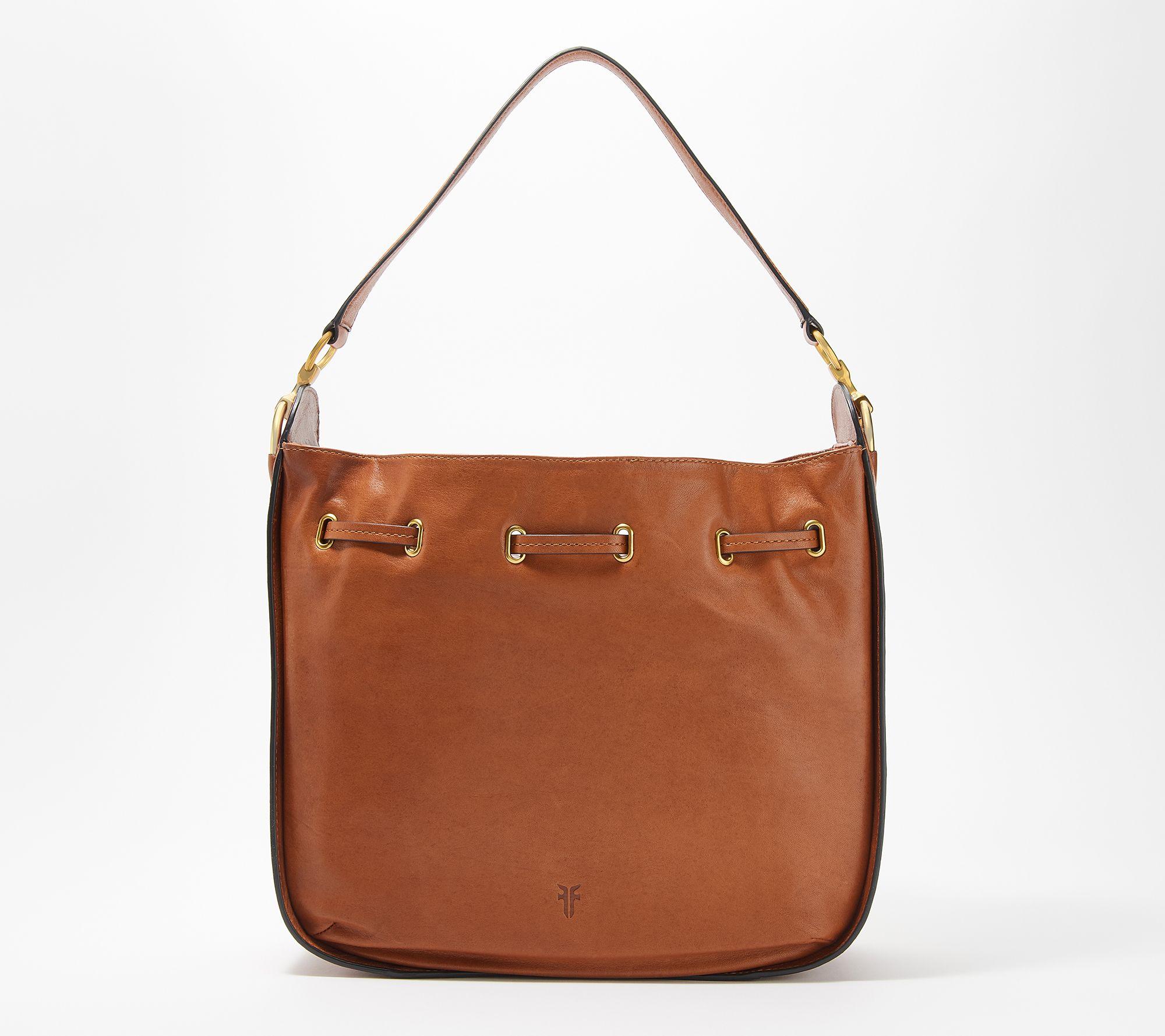 463ccb6c1d Frye Leather Ilana Hobo Handbag — QVC.com