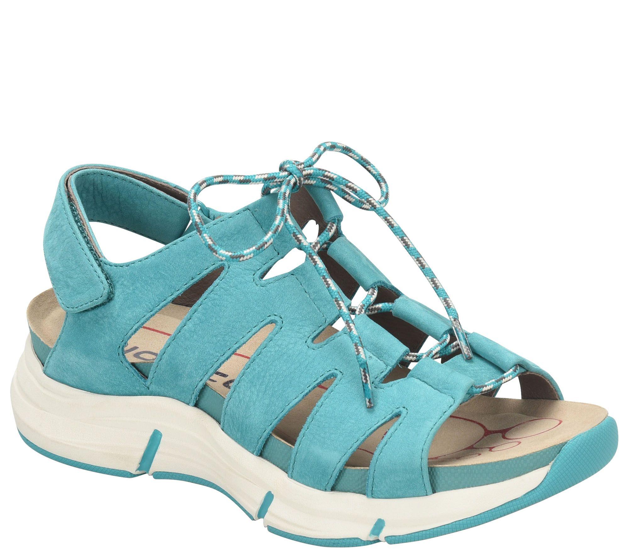 c774110634aeaa Bionica Lace-up Sandals - Olanda - Page 1 — QVC.com