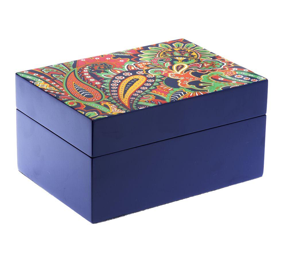 f70863ca96 Vera Bradley Signature Print Jewelry Box - Page 1 — QVC.com
