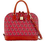 Dooney & Bourke NFL Cardinals Zip Zip Satchel - A285744