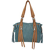 Aimee Kestenberg Pebble Leather Shoulder Bag- Avalon - A289744