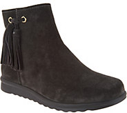 Vaneli Suede Ankle Boots with Tassel - Dommie - A295244