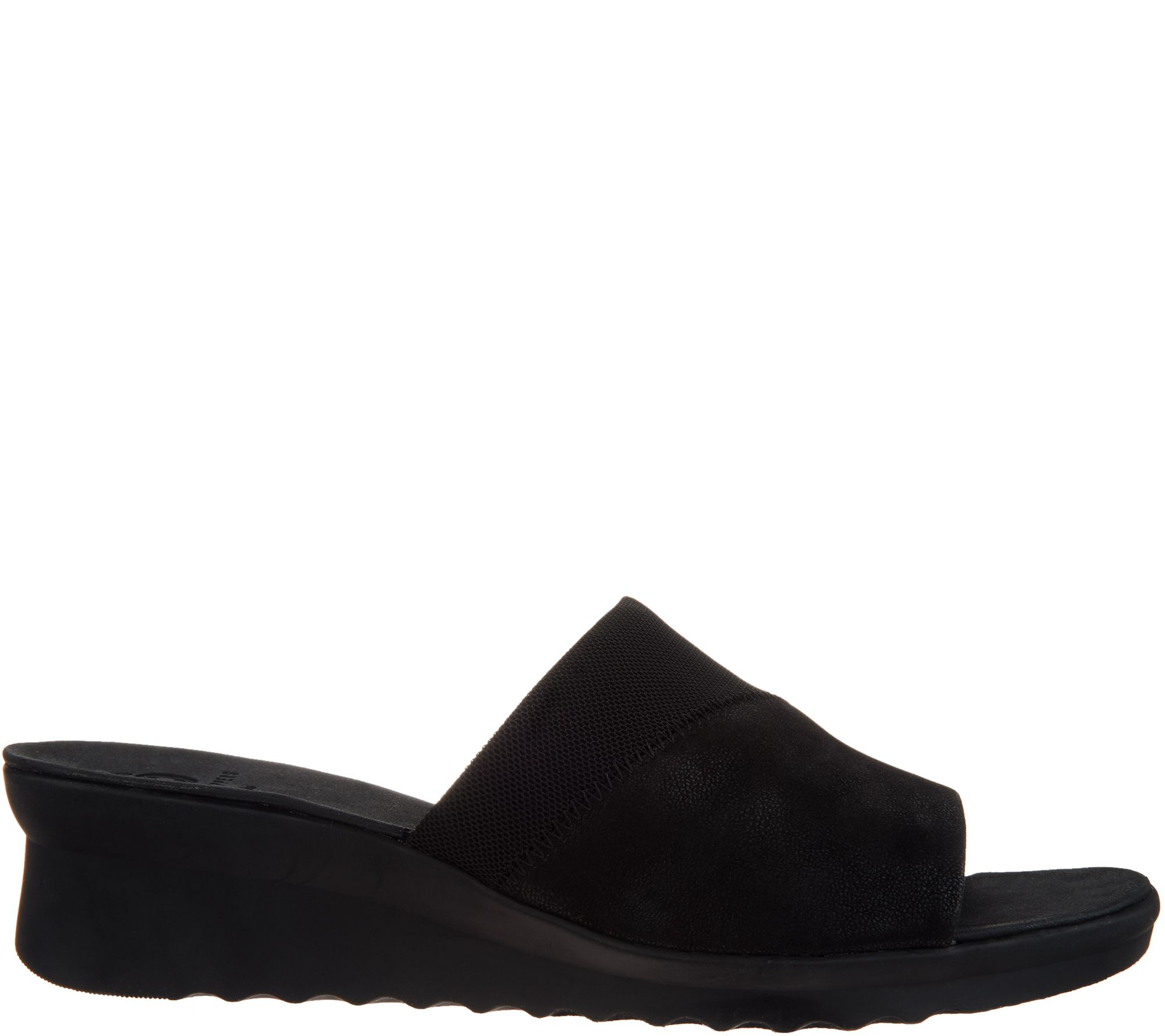 5c7493cfb3eb CLOUDSTEPPERS by Clarks Single Band Slides - Caddell Ivy - Page 1 — QVC.com