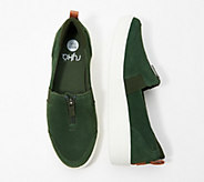 Ryka Stain Resistant Suede Slip-On Shoes - Vivvi - A310844
