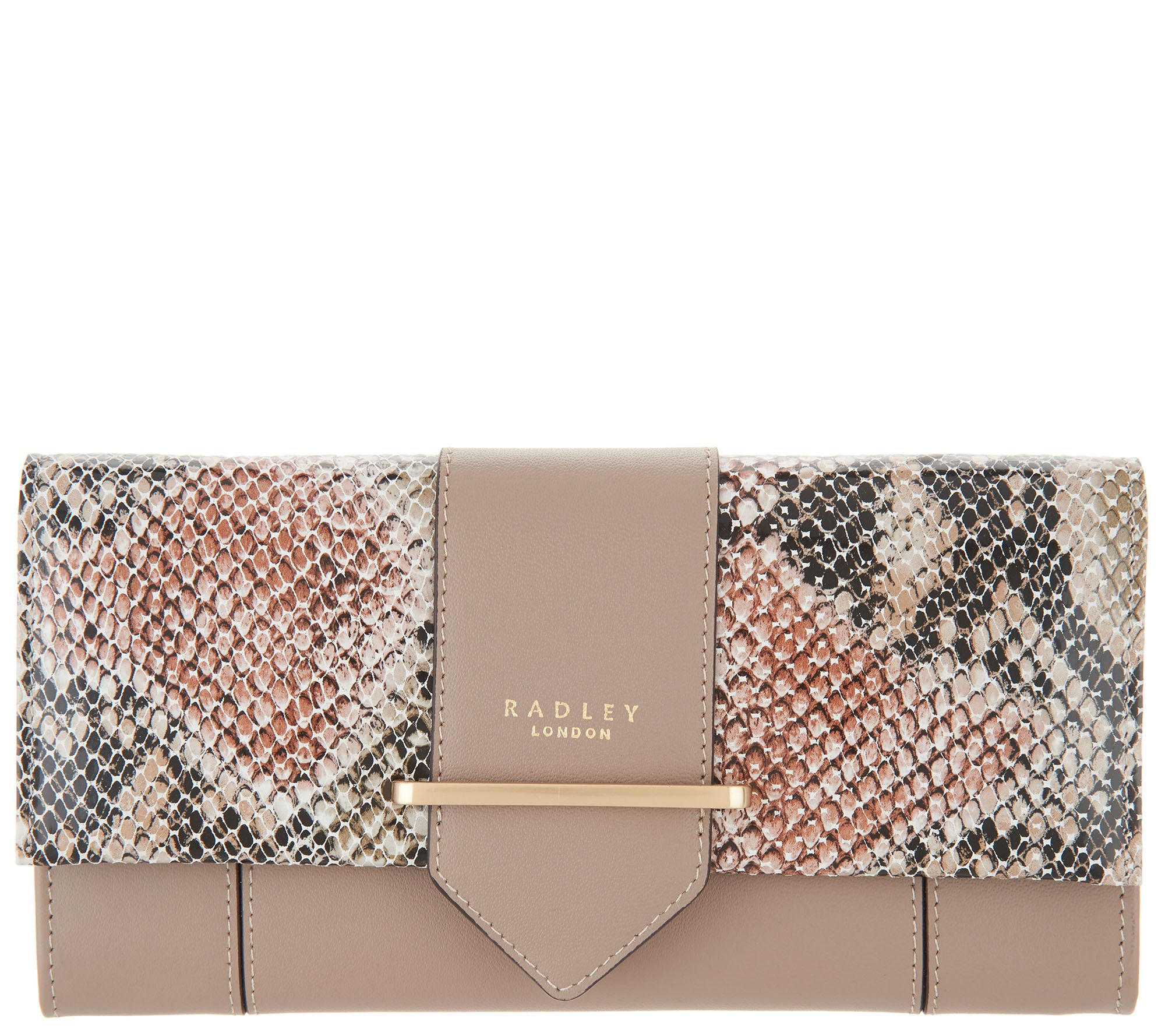 6331146e0c78 RADLEY London Palace Street Large Flapover Matinee Wallet - Page 1 — QVC.com