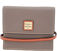 Dooney & Bourke Pebble Leather Flap Crossbody - Gingy - A346044