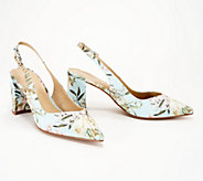 Marc Fisher Pointy Toe Slingback Pumps- Catling - A347844