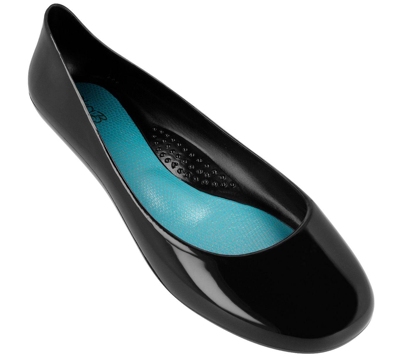 2871acffb Oka B Jelly Ballet Flats - Taylor — QVC.com