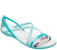 Crocs Sandals - Isabella Cut Graphic Strappy - A413144
